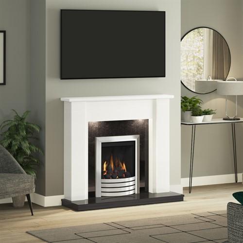 Be Modern Elda Marble Fireplace Suite Hotprice Co Uk