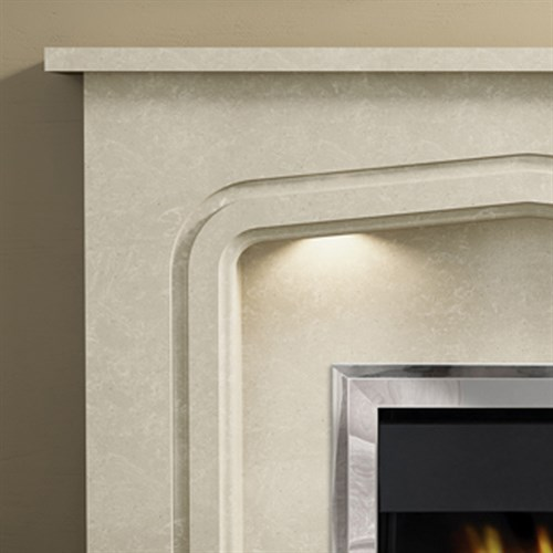 Be Modern Cassola Marble Fireplace Suite