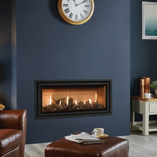 Gazco Studio Edge + Plus MK2 Wall Mounted Gas Fire (Balanced Flue