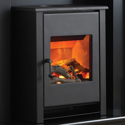Flamerite Fires Corbel With Atom Stove Electric Fireplace