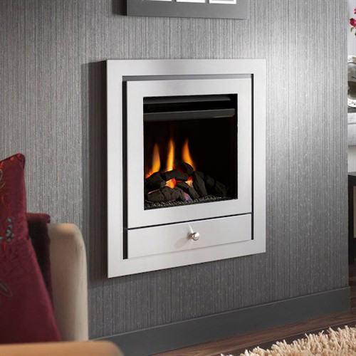 Crystal Fires Montana Royale High Efficiency 4 Sided Wall Mounted Gas Fire