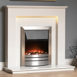 Gallery Hutton Marble Fireplace Suite