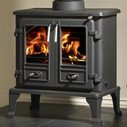Gallery Firefox 8 TD Twin Door Multi-Fuel Stove