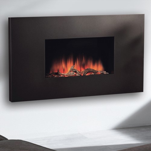 Flamerite Fires Corello 2 Wall Mounted LED Electric Fire - Graphite