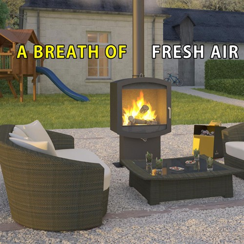 Firebelly Outdoor Firepod Wood Burning Stove