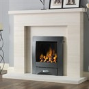 Pureglow Drayton Limestone Fireplace Suite with Gas Fire