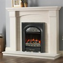 Pureglow Kingsford Limestone Fireplace Suite with Electric Fire