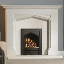 Pureglow Harvington Limestone Fireplace Suite with Gas Fire