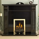 Pureglow Knighton Granite Fireplace Suite with Gas Fire