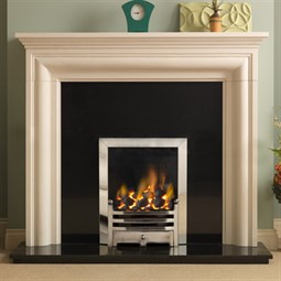 Pureglow Wenlock Fireplace Suite with Gas Fire