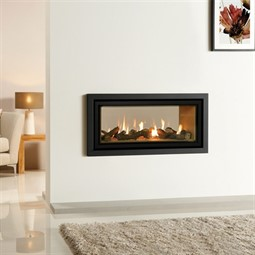 Gazco Studio 2 Duplex Double Sided Balanced Flue Gas Fire ...