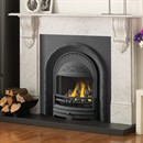Cast Tec Verona Carrara Marble Fireplace