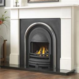 Cast Tec Flat Victorian Limestone Or Granite Fireplace