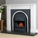 Cast Tec Roundel Marble Fireplace