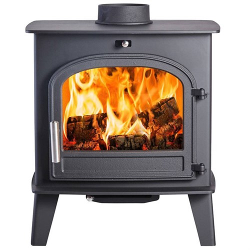 Cleanburn Norreskoven Traditional Wood Burning / Multi-Fuel Convector Stove