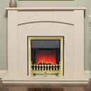 Be Modern Allegra Marble Fireplace Suite