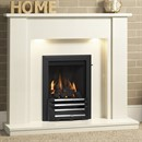 Be Modern Elda Marble Fireplace Suite