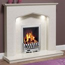 Be Modern Piera Marble Fireplace Suite