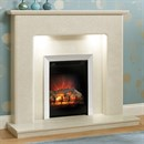 Be Modern Valencia Marble Fireplace Suite