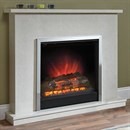 Be Modern Melissa Marble Electric Fireplace Suite