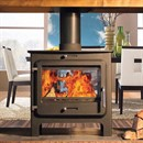 Ekol Clarity Double Sided Multi-Fuel Stove (DEFRA Approved)