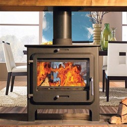 Ekol Clarity Double Sided Multi-Fuel Stove (DEFRA Approved) - Hotprice