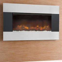 Burley Ashwell LED Wall-Mounted Electric Fire