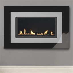 Burley Latitude 4500 Flueless Wall Mounted Gas Fire