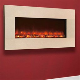 Celsi Electriflame XD Hang-on-the-Wall Electric Fire - Royal Botticino