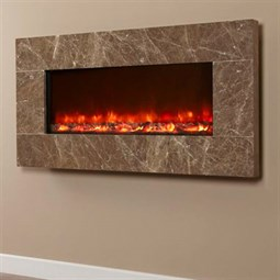 Celsi Electriflame XD Hang-on-the-Wall Electric Fire - Prestige Brown