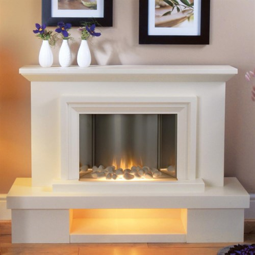 Flamerite Fires Milan LED Electric Fireplace Suite