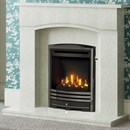 Be Modern Ellerton Marble Fireplace Suite