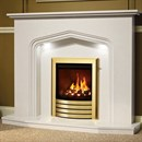 Be Modern Elma Marble Fireplace Suite