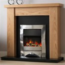Pureglow Ludlow Electric Fireplace Suite