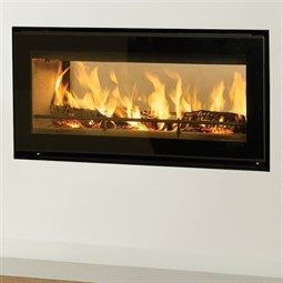 Stovax Studio 2 Duplex Double Sided Wood Burning Cassette Fire