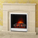 Be Modern Camilla Marble Electric Fireplace Suite