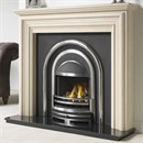Cast Tec Alnwick Marble Fireplace