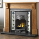 Cast Tec Brampton Solid Oak Fireplace
