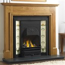 Cast Tec Coniston Solid Oak Fireplace