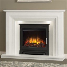 Elgin & Hall Vitalia Marble Fireplace Suite