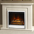 Be Modern Plus Temperley Marble Electric Fireplace Suite
