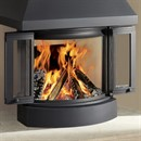 Nordpeis NI-22 Woodburning Fireplace Stove