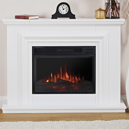 Eko Fires 1200 LED Electric Fireplace Suite