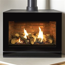 Gazco Riva2 F670 Glass Gas Stove