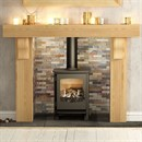 Be Modern Elicott Solid Oak Fireplace Surround
