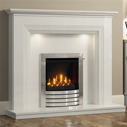 Elgin & Hall Odella Marble Fireplace Suite