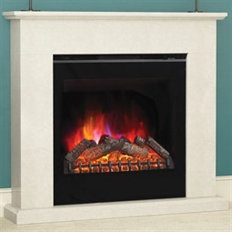 Elgin & Hall Vittoria Marble Electric Fireplace Suite