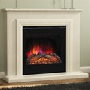 Elgin & Hall Susannah Marble Electric Fireplace Suite