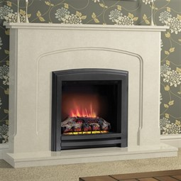Elgin & Hall Newham Marble Electric Fireplace Suite
