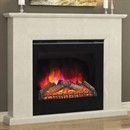 Elgin & Hall Roesia Marble Electric Fireplace Suite
